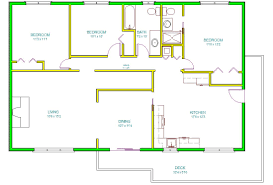 1098x745 autocad 2d house drawings 2d house plans â modern house