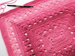Free Crochet Patterns Custom Lunar Crossings Rectangle Blanket Free Crochet Pattern CrochetKim™