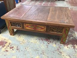 indonesian carved coffee table with teak hand carved painted coffee table primefurniturehouston