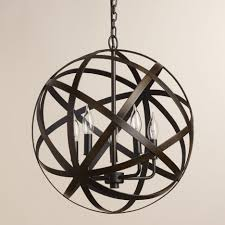 black chandelier shades foucault chandelier chandelier ping orb foyer light iron sphere chandelier