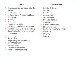 Skills To List On Resume Fascinating Resume Skill List Resumelayout