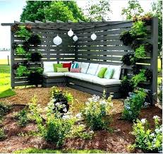 contemporary patio privacy fence ideas backyard chic stained wooden throughout patio privacy fence ideas a12
