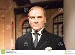 Mustafa Kemal Ataturk-Wachsfigur Am Wachsmuseum Madame Tussauds In Istanbul  Redaktionelles Stockbild - Bild von verfasser, leute: 102590989