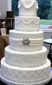 True Elegance 5 Tier Wedding Cake In Buttercream By Simply
