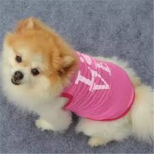 Kitteoy Dog Costume Pet Clothes Puppy Dog Cat Pink Foot Prints Vest T Shirt Apparel Clothing