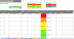 Excel Raid Log And Dashboard Template Dashboard Template