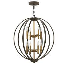 picture 1 of hinkley lighting chandelier harlow 3 light