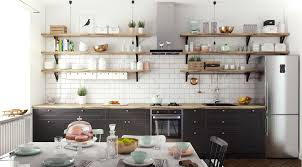 interior design fo open shelving kitchen. Open Kitchen Shelving: 40 Classy Examples That Show How The Pros Pull It Off Interior Design Fo Shelving E