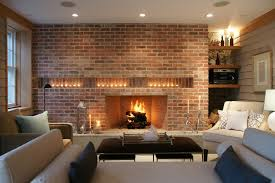fireplace lighting. candles in a fireplace living room with none lighting e