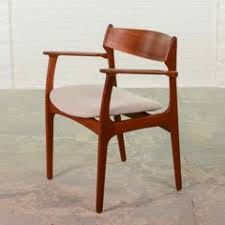 mid century danish modern set of 4 erik buck teak dining chairs o d mobler a s dining room teak antique chairid century