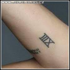 Tetování Jolie