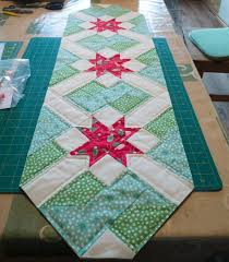 table runner designed by ruth bourke from charly ben s crafty corner