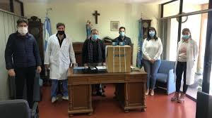 El Hospital San Felipe recibió la visita del Jefe de Gabinete del Ministerio  de Salud de la Nación, Lisandro Bonelli