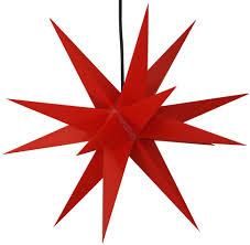 Stabiler Wetterfester 3d Weihnachtsstern Außenstern