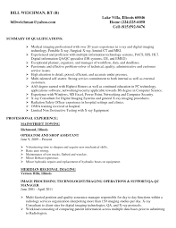 X Ray Tech Resume Medical X Ray Technician Resume Sample Vinodomia 20