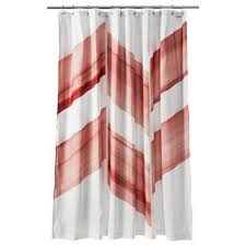 chevron shower curtain target. Nate Berkus Red Chevron Shower Curtain Target R