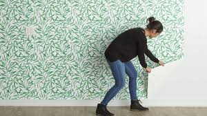 hang peel and stick removable wallpaper ...