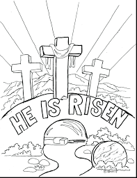 Easter Coloring Pages Religious Education L