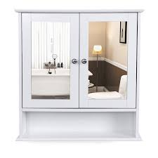 Amazonde Vasagle Spiegelschrank Badschrank Hängeschrank Spiegel