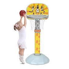 "Costzon Kids Basketball Hoop, 38-53"" H, 9 <b>Adjustable Height</b> ..."