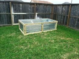 round galvanized steel garden beds raised amusing bed corrugated galvanised rais
