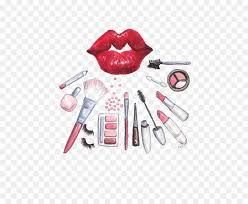 cosmetics makeup brush watercolor painting makeup png 564 729 free transpa png