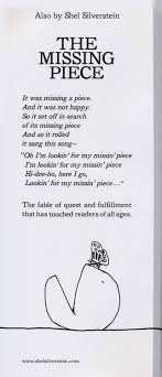 The Missing Piece Shel Silverstein The Missing Piece Meets The Big O Shel Silverstein 9780060256579