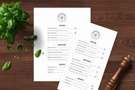 Page Color Google Docs Fresh Menu Template Restaurant Menu Printable