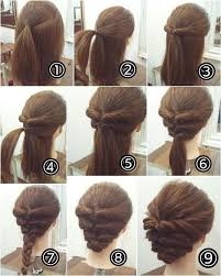 Simple Hairstyle For Long Hair best 25 easy updo ideas chignon updo easy chignon 1531 by stevesalt.us