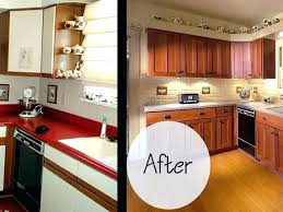 decoration kitchen cabinets refacing toronto cost refinish redoing cabinet ref