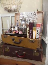 20 DIY Vintage Suitcase Decorating Ideas to create. Vintage suitcases - for  accessorizing a room, extra storage or repurposed into a piece of furniture