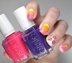 Essie Silk Watercolor Collection & Nail Art - Lacquered Bits