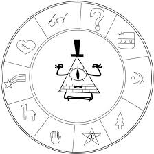 Superb Z379737 Gravity Falls Coloring Pages Of New Or Printable