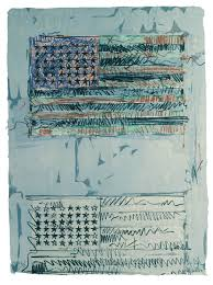 jasper johns flags ii 1970 lithograph jasper johns universal limited