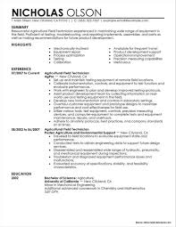Oil Field Technician Resume Samples Resume Resume Examples