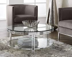 andros coffee table art deco glass 1010