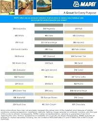 Tec Grout Color Chart Tec Grout Stain Gununkuponu Co