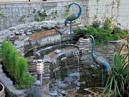 Small Picture Backyard Waterfall Designs Backyard Landscape Design