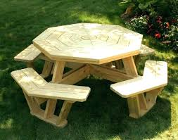 round wood picnic table round wooden picnic table round wooden bench picnic table plans square picnic