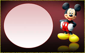 Free Mickey Mouse Printable Invitations
