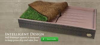 prev fake grass dog potty artificial diy