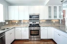 white kitchens backsplash ideas. Perfect Backsplash White Backsplash Tile Ideas Kitchen Divine  With Cabinets In Gallery   For White Kitchens Backsplash Ideas