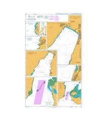 British Admiralty Nautical Chart 801 Plans In The Gulf Of Aqaba