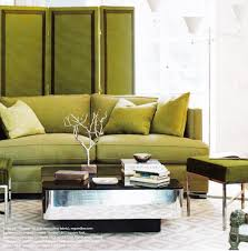 I love green, it would be my second choice for a sofa colour, just like in  this loft I decorated for one of my clients. It's also a great colour  paired with ...