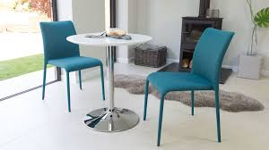 small round pedestal dining table