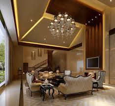 Modern Contemporary Living Room Also Chandelier And Recessed Light Also  Traditional Sofa And Couches Also Marble ...