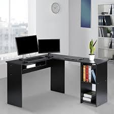 computer desk office works. Architecture Amazon Com LANGRIA L Shaped Corner Computer Desk Home Office Work Inside Desks Decorations 10 Works I