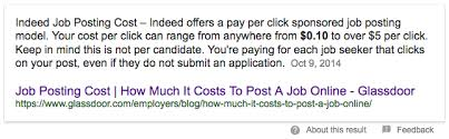 Indeed Job Posting Cost A Job Portal Which Is Free To Post Jobs And Resumes For 60 Days