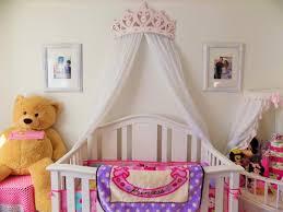 beautiful princess canopy bed. Love Diy Crib Canopy Bed Crown Pink Princess Wall Decor Beautiful