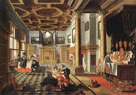 bartholomeus van bassen s famous painting renaissance interior with banqueters 1618 1620 this high res image supplied to me courtesy of michael klauke
